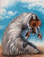 Graboid From Tremors by Razing-Darkness