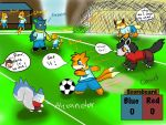 PMDU: Soccer Contest! Chibi Edition (Part 1) by Gondor234