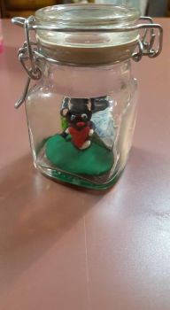 V-day bear in a jar by Kitty1617