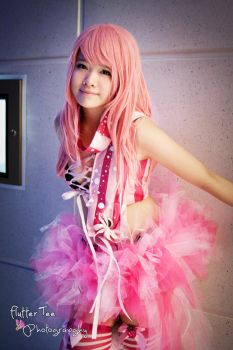 Innocence - Megurine Luka - Vocaloid Rave Outfit by Miss-mimiko