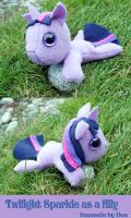 Fanmade Plush Twilight Sparkle by bluepaws21