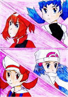 Pokemon Girls by cathanupto