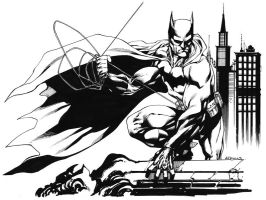 Batman Week: BATMAN SOTD by RobertAtkins