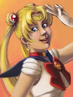 sailor moon by mountainlaurelarts