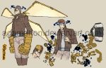 Steampunk Character Design 01 by agamarlon