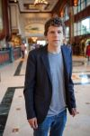 Jesse Eisenberg (lobby of my hotel) by dicklaurent74