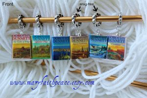 The LYMOND Chronicles Stitch Markers by maryfaithpeace