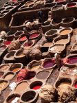 Tanneries Close Up, Fes by do7slash