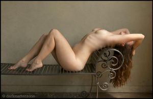 Reclining Nude by Searine