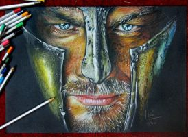 spartacus -  Pencil color by hieuorion