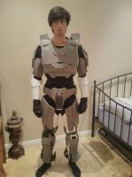 Halo 3 Mark VI MJOLNIR armor *WIP* by abnoormal