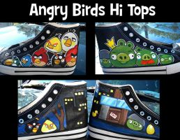 Angry Bird Shoes FOR SALE by Miss-Melis