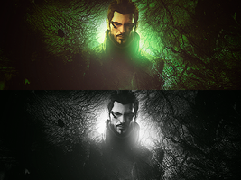 Adam Jensen Tag 2 by matheussos