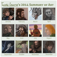 2014 Summary of Art by Tenshi-Inverse