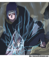 Experiments: Light - Sasuke by SilverCore94