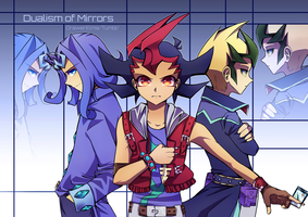 Yu-Gi-Oh! Zexal - Dualism of Mirrors by DrawerElma