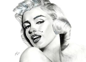 Marilyn Monroe by Kyreks