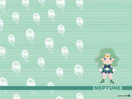 Sailor Neptune - Chibi Style by Willianac