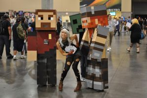 Minecraft Yogscast Cosplay 15 by Auzrill
