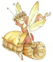 Autumn Fairy by morganadulac