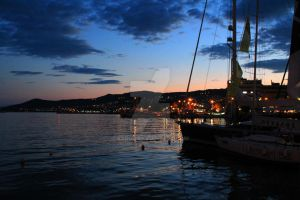 Sunset in Kavala by aardn