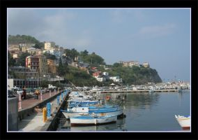 Little marina in Italy by 1photo