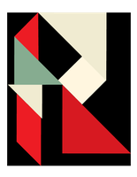 tangram letter R by stallintheunicow73
