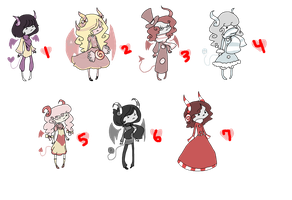 PRICE EDIT Candy Demons: OPEN by x-Rans-Lovs-Adopts-x