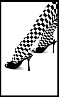 Chess Shoe by Ephourita