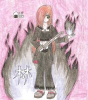 Rin of the Black Flame by megpie252