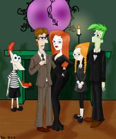 PnF - The Addams Family by ThanyPhinbellaLover