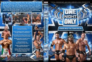 TNA One Night Only Jokers Wild 2013 DVD Cover by Chirantha