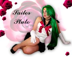 Sailor Pluto Cosplay by NoxiousNova