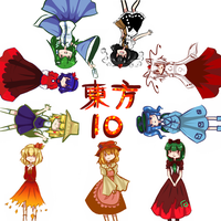 TOUHOU 10 by watermelon-clock