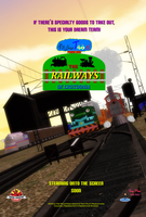 The Railways of Crotoonia: Official Poster #7 by TheMilanTooner