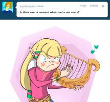 Ask Angry zelda (animated) by renzus