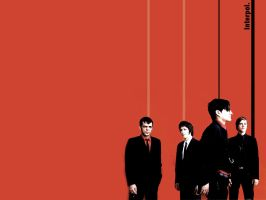 Interpol - Wallpaper by Bia