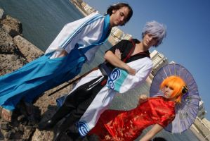 Gintama in the beach~ by MartinDNoa