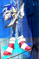 a very sonic guitar solo by blue-jackpot
