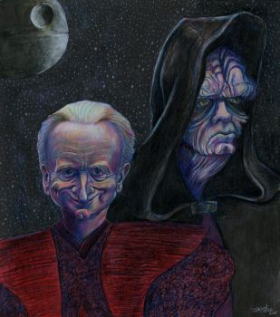 Palpatine of Star Wars by Caricature80