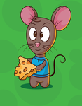Free Mouse Vector Character by pixaroma