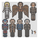 Legends Of Tomorrow 1 perler bead by geek-2perlerbeads