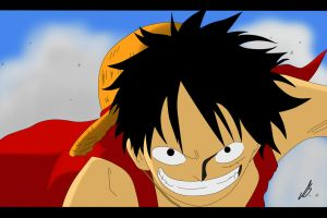 Luffy - Determination by MrsLuffy07