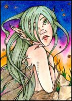 Willow of the Wisps ACEO by NoraBlansett