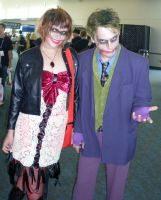 Joker and Harley? by mjac1971