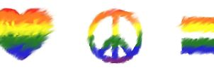 Love Peace Equality by twixtnightandmorn