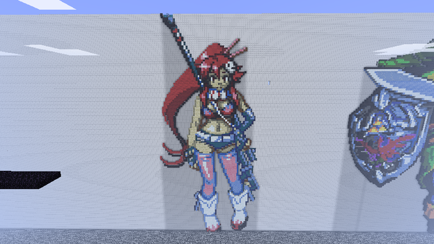 Yoko in Minecraft by Mepisto