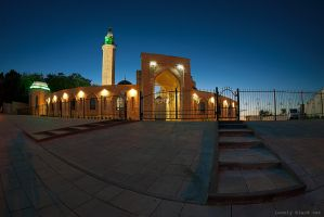 Mosque by Lonely-black-cat