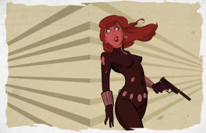 Black Widow by DaveBardin