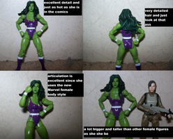 Comic Pack She Hulk by lovefistfury